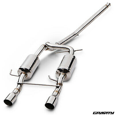 "2.5"" Stainless Cat Back Exhaust System For Renault Clio Mk2 182 2.0 16V Sport"
