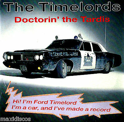 "12"" - The Timelords - Doctorin' The Tardis (DISCO) SPANISH EDIT.1988 MINT *NUEVO"