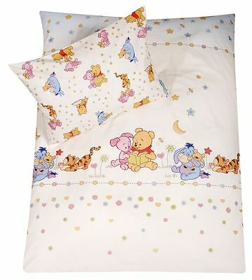 Disney by Zöllner Bettwäsche 100/135+40/60 cm Design Stylished Pooh NEU