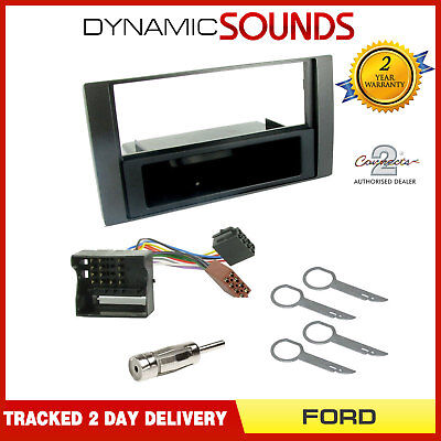 CT24FD29 Car Stereo Single Din Fascia Facia Fitting Kit For Ford C-Max 2003>