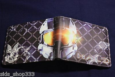 HALO Master Chief ! bi fold wallet  US Seller awesome wallet and great gift