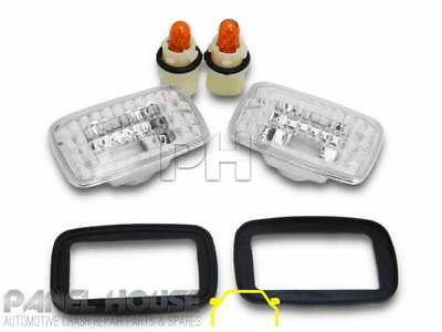 Toyota Landcruiser 100 Hilux Camry Celica Corolla Surf Clear Indicator Flashers