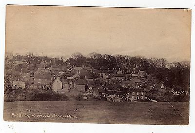 Lincolnshire, Fulbeck From The Stock-Hill