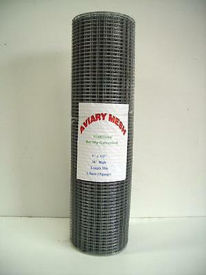 "Welded Wire Mesh 1/2"" x 1/2"" x ( Aviary, hutches, runs,cages )"