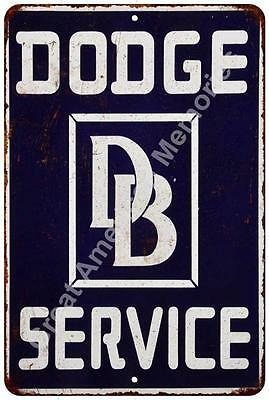 Dodge Service Vintage Look Reproduction Metal Sign 8x12 8122346