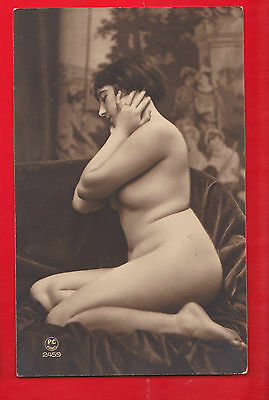 Glamour, Nudes risqué, Erotic French card.p