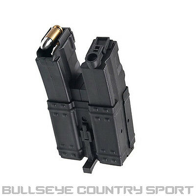 Cyma Airsoft Magazine Mp 5 250 Rd Double Stack Hi-Cap Black Wind Type