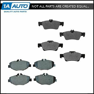 *NEW* Front Semi Metallic  Disc Brake Pads with Shims Satisfied CL146