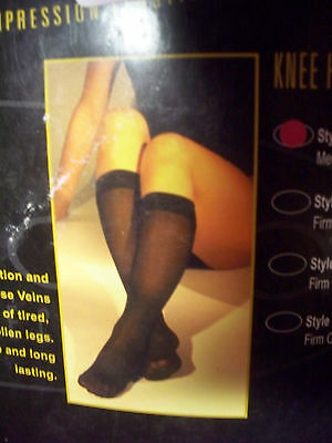 Gabrialla Compression Knee Highs 3pk U CHOOSE SIZE BEGE 18-20mmHg