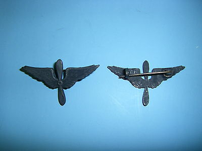 0118  WWI Army Air Service Officer's Collar Insignia