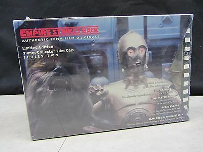 Star Wars ~ The Empire Strikes Back ~ Authentic 70MM Collector Film Cells ~ 1997