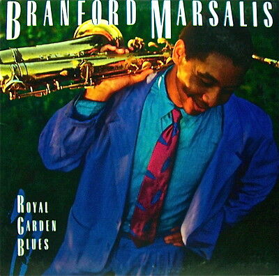 Branford Marsalis: Royal Garden Blues 7 Jazz Selections Columbia Recs 33 Lp 1986
