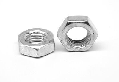 1//2-20 SAE Hex Slotted Nut Zinc Plated 50 Count box