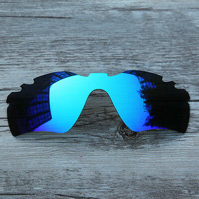 New Ice Blue Polarized Replacement Vented lenses for-Oakley Radar Path