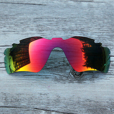 New Fire Ruby Red Polarized Vented lenses for-Oakley Radar Path