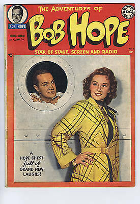 Adventures of Bob Hope #2 Simcoe 1950 CANADIAN EDITION