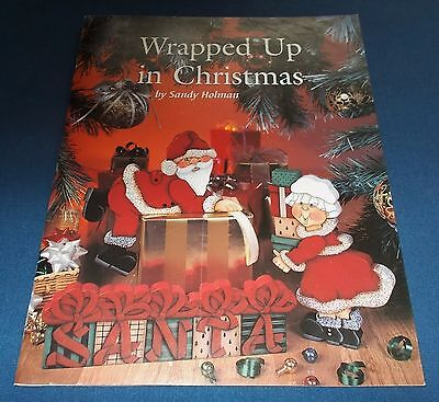 Wrapped Up In Christmas by Sandy Holman Tole Decorative Painting Pattern Book