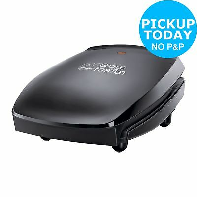 George Foreman 18471 Family 4 Portion Family Grill 760W - Black :From Argos ebay