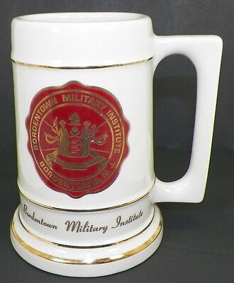 Bordentown Military Institute Large Mug Or Stein Bordentown New Jersey