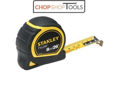Stanley Tools STA030656N Tylon� Pocket Tape 8m/26ft (Width 25mm) Carded