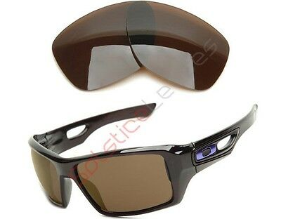 POLARIZED BRONZE BROWN SL Replacement Lens for Oakley EYEPATCH 1 & 2 Sunglasses