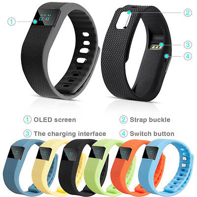 Sleep Sports Fitness Activity Tracker Smart Fascia Polso Contapassi Bracciale