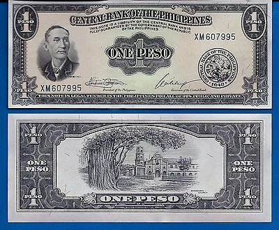 Philippines P-133 One Peso Year ND1949 Uncirculated Banknote Asia