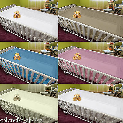 All Round Large Long Padded Bumper To Fit Cot /Cot Bed