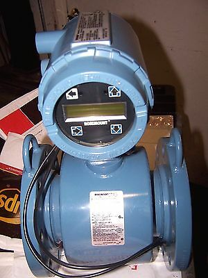 "New Rosemount 4"" Magnetic Flow Meter Digital Transmitter 8732Est1A4N0Da2Axm4"