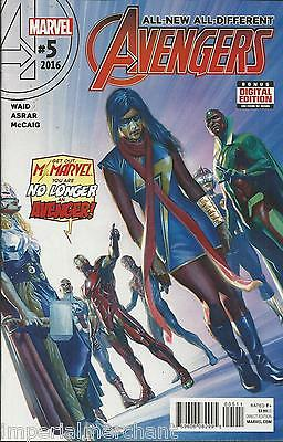 Avengers Comic Issue 5 All New All Different Modern Age First Print 2016 Waid