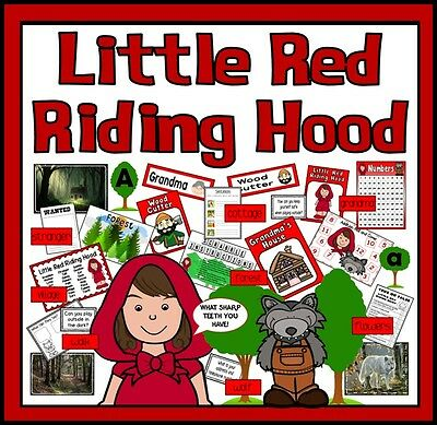 Cd Little Red Riding Hood Story Teaching Resources  Eyfs Ks1 Fairytale Role Play