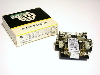 New Allen Bradley Ab Auxiliary Contact For Contactor Model 195-Ba01