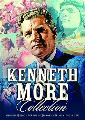 KENNETH MORE COLLECTION New Sealed 4 DVD Set 4 Films