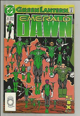 Green Lantern: Emerald Dawn #6 (May 1990, DC) b91