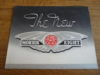 MORRIS EIGHT SERIES E CAR BROCHURE  jm