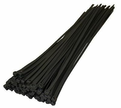"10 Cable Ties Heavy Duty Extra Large Garden Plant,Tree Tie Wraps.9.5""."