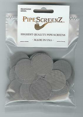 """(1 1/4"""") 100+ Count Stainless Steel Pipe Screens 1.25"""" (31.75 mm) Made in USA!"""