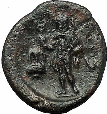 SESTOS in THRACE 300BC RARE Ancient Greek Coin PERSEPHONE HERMES AMPHORA i54422