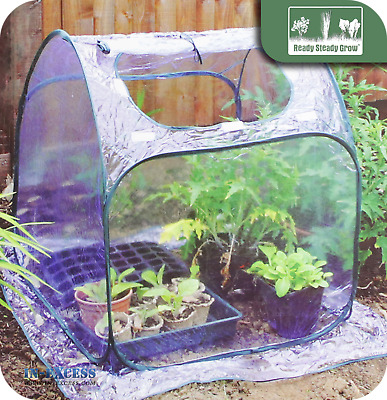 Ready Steady Grow GH1076 Pop Up Propagation Propagator Dome 62 x 76 x 62cm