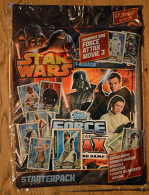 Force Attax Star Wars Movie Card Serie 3 *Starter-Pack Sammelmappe Starter-Set*