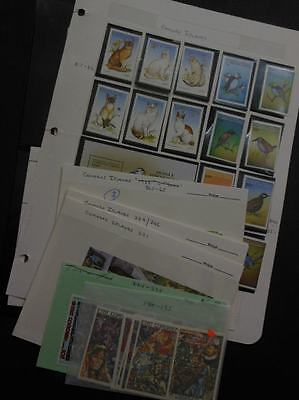 COMOROS : Beautiful collection. All Very Fine, MNH. Topicals. Scott Catalog $253