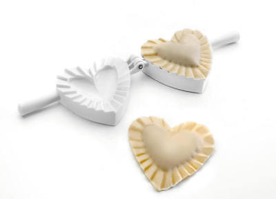 Teigfalle Herz Nudelform Maultaschenform Ravioliform Heart Shaped Dumpling Maker