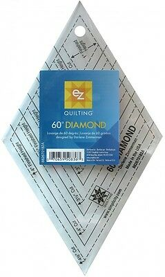 EZ 60 Degree Diamond Acrylic Quilting Template (882670182A)
