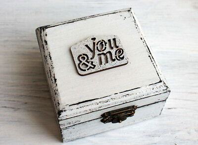 Wooden,Personalized box.Ring box holder,Calendar wedding.Ring Bearer Box Wedding