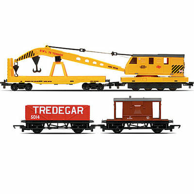HORNBY Wagon R6365 Breakdown Train Crane Railroad