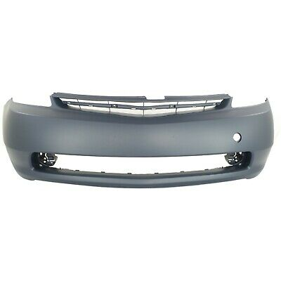 Front Bumper Cover For 2004-2009 Toyota Prius w/ fog lamp holes Primed