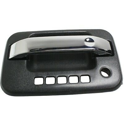 Door Handle For 2004-14 Ford F-150 With Keypad Hole Textured Housing Front Left