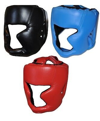 Adult Boxing Head Guard Full Face Helmet - MMA, Martial Arts, Thai