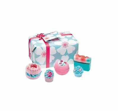 Bomb Cosmetics Sky High Pamper Mothers Day Wrapped Bath Soap Natural Gift Set
