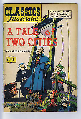 Classics Illustrated #6 Gilberton Pub, a Tale of Two Cities
